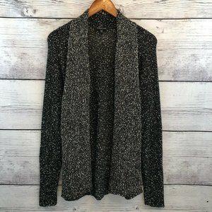 Eileen Fisher Nubby Knit Open Front Cardigan LP